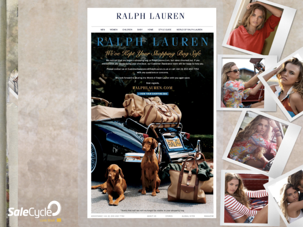 Brand Insights: Ralph Lauren go against the grain, focusing on 'brand' rather than products.